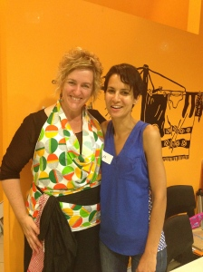 Me and Tania Hubbard!